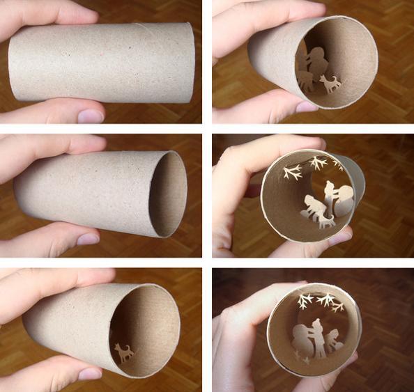 22 empty tp roll art Beautiful Miniature Paper Art Scenes [30 pics]