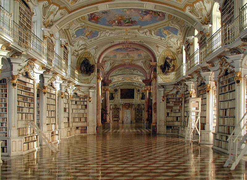 admont abbey library austria 15 Incredible Libraries Around the World