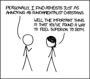 Atheists [Comic Strip]