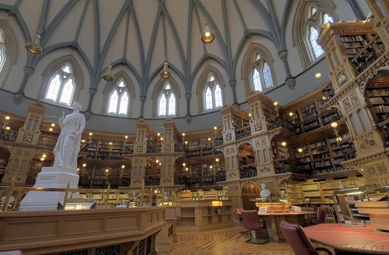 canadian library of parliament 15 Incredible Libraries Around the World