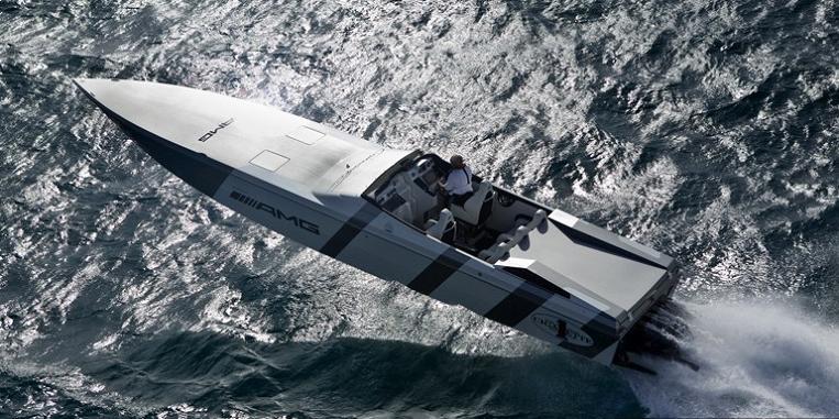 Cigarette Boat Sls Amg