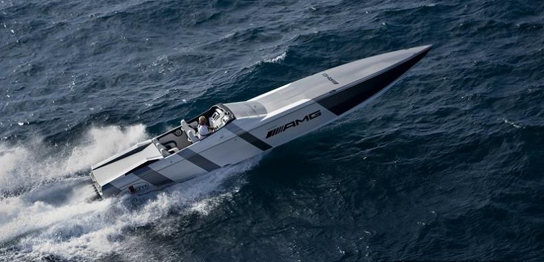 cigarette racing team sls amg $1.2 Million 1,350 HP Mercedes Benz SLS AMG Cigarette Boat