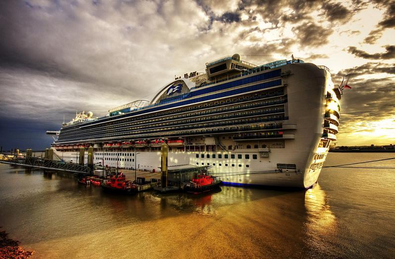 The crown jewel of the Princess Cruises Fleet, the Crown Princess ...