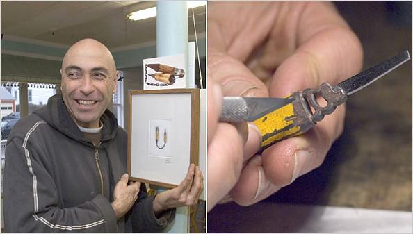 dalton ghetti miniature sculptures carving The Most Incredible Miniature Pencil Art [20 pics]