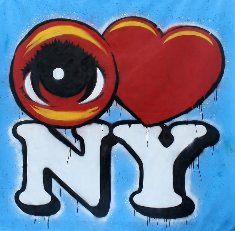 STREET ART: Eye Heart NYC by Peat Wollaeger [21 pics]