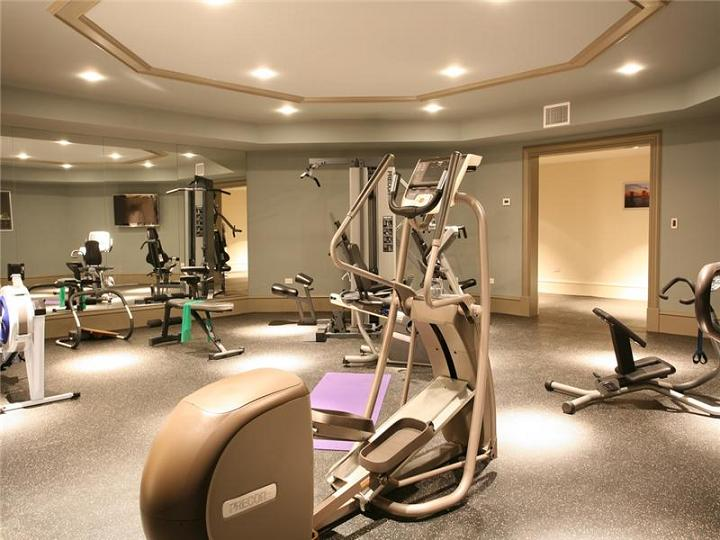 The 60 million mansion on the ocean castillo caribe for Luxury home gym