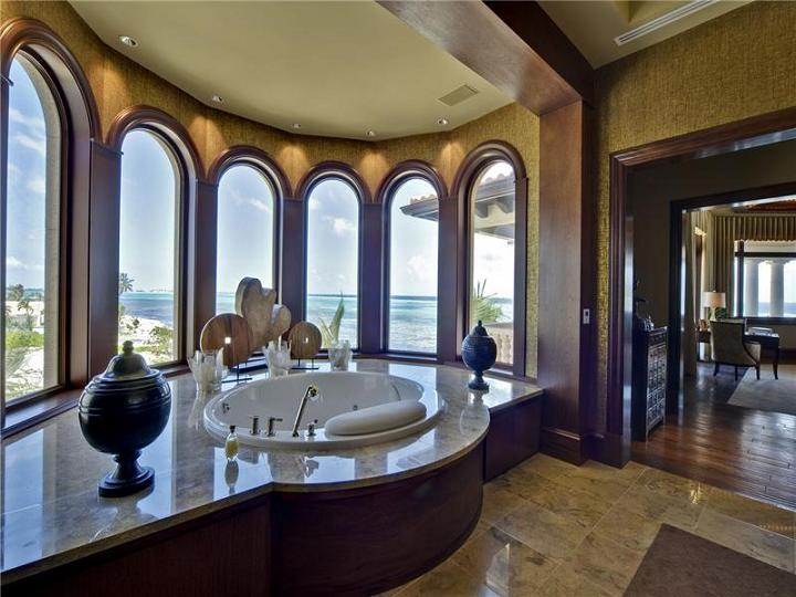 incredible en suite with view The $60 Million Mansion on the Ocean: Castillo Caribe, Cayman Islands