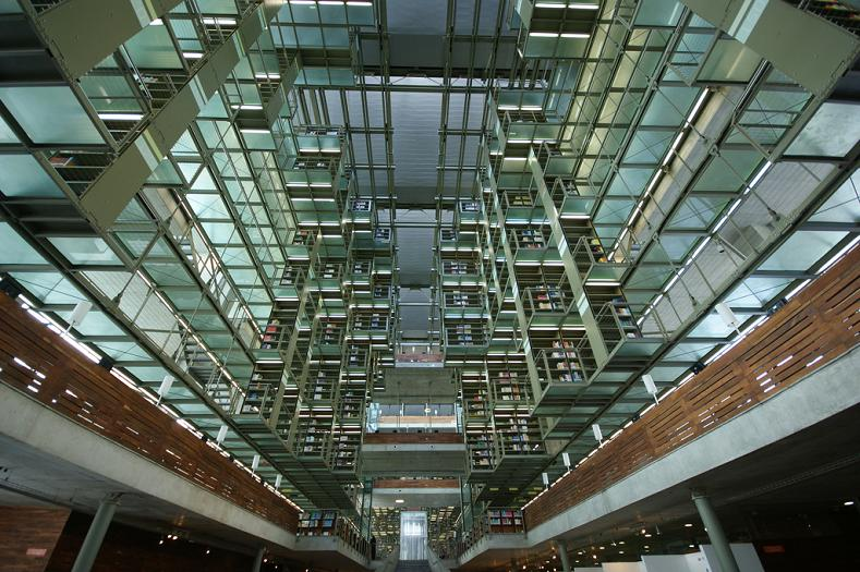 jose vasconcelos library mexico city 15 Incredible Libraries Around the World