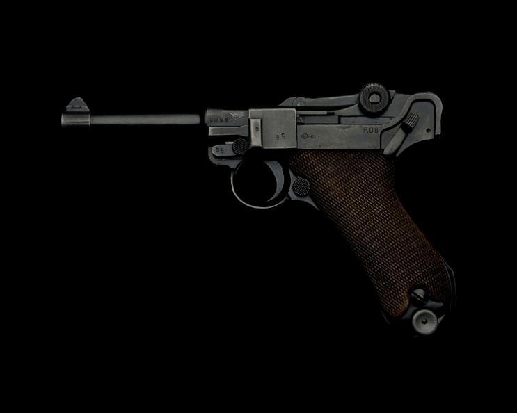 luger p08 gun guido mocafico Guns and Roses by Guido Mocafico