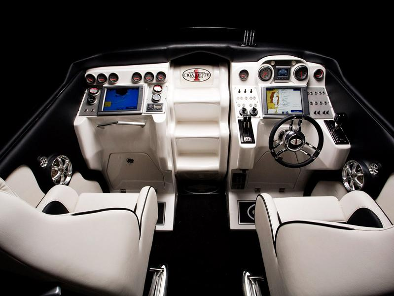 mercedes benz sls amg boat interior $1.2 Million 1,350 HP Mercedes Benz SLS AMG Cigarette Boat