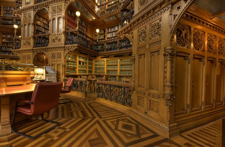 parliament library of canada in ottawa 15 Incredible Libraries Around the World