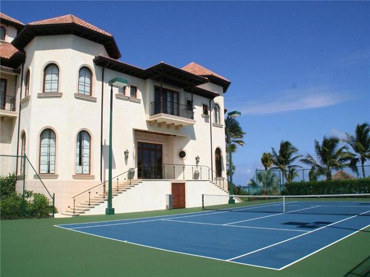 private-tennis-court
