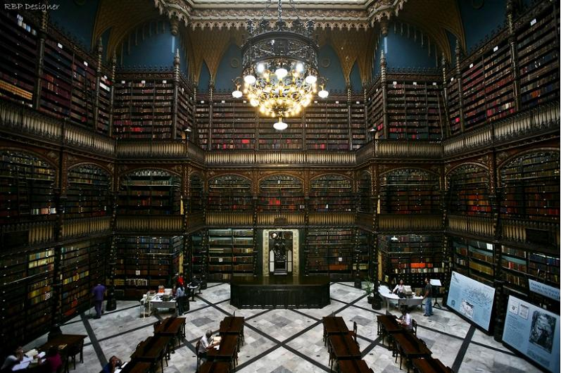 real gabinete rio de janiero brazil 15 Incredible Libraries Around the World