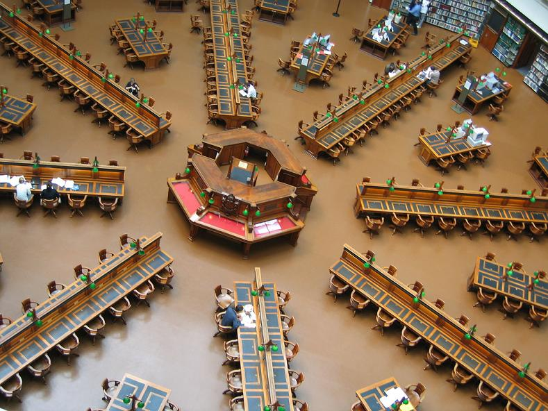 state library in victoria australia 15 Incredible Libraries Around the World