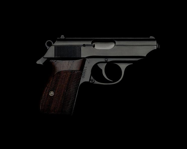 walkter ppk handgun guido mocafico Guns and Roses by Guido Mocafico