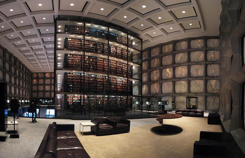 yale rare book library 15 Incredible Libraries Around the World