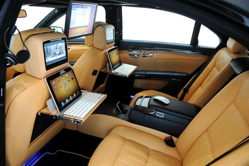 Icar mercedes s600 apple car by brabus twistedsifter for Interieur de voiture de luxe