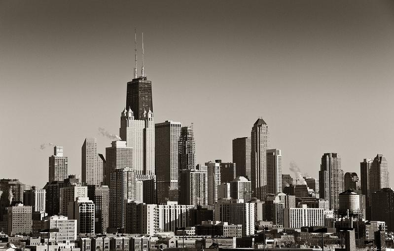 chicago skyline 15 Spectacular Skylines Around the World