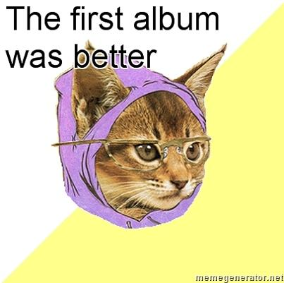 first album was better What if Cats, Dinosaurs and Super Heroes Were Hipsters?