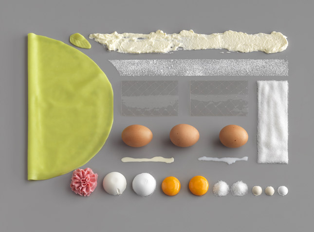 food art with ingredients ikea Brilliant Visual Recipes by IKEA [22 pics]