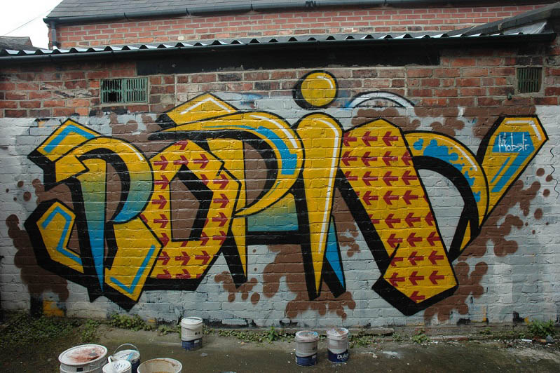 graffiti by mobstr Brilliant Street Art by Mobstr [20 pics]
