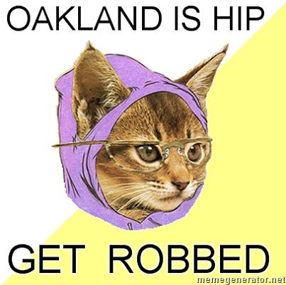 hipster cat oakland What if Cats, Dinosaurs and Super Heroes Were Hipsters?