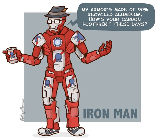 hipster iron man What if Cats, Dinosaurs and Super Heroes Were Hipsters?