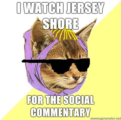 hipster kitty jersey shore What if Cats, Dinosaurs and Super Heroes Were Hipsters?