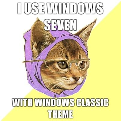 hipster kitty windows classic What if Cats, Dinosaurs and Super Heroes Were Hipsters?