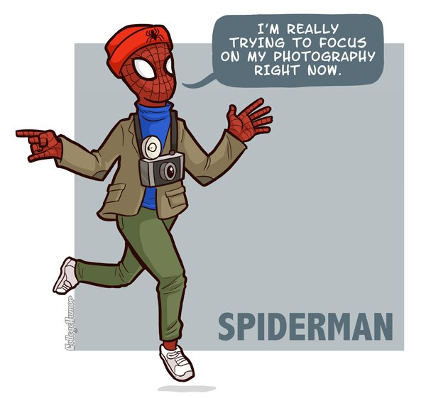 hipster spiderman What if Cats, Dinosaurs and Super Heroes Were Hipsters?