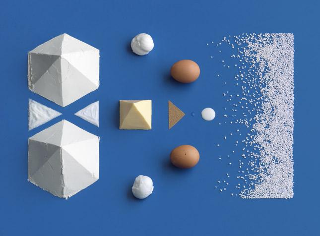 inredient art Brilliant Visual Recipes by IKEA [22 pics]