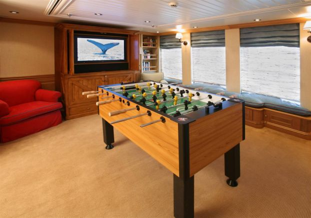 inside a super yacht Inside Paul Allens $160 Million Yacht Tatoosh
