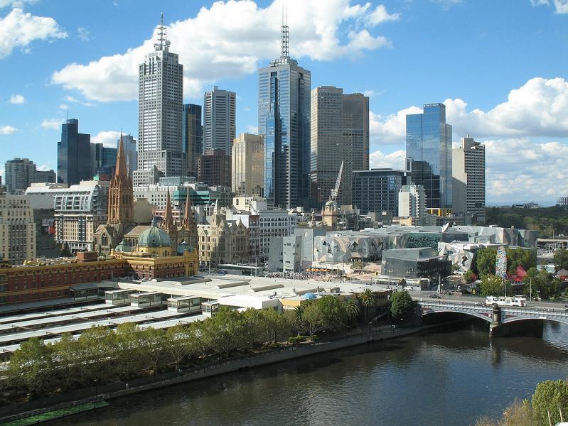 melbourne australia skyline1 15 Spectacular Skylines Around the World