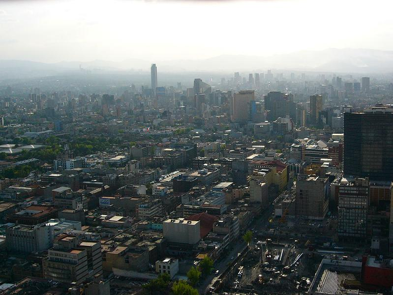 mexico city skyline 15 Spectacular Skylines Around the World