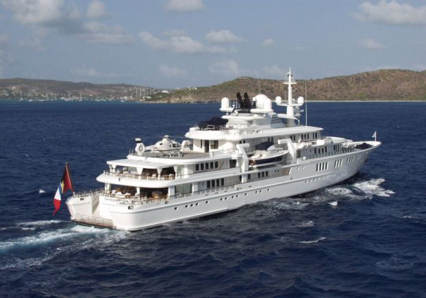 Paul Allens Super Yacht Tatoosh Inside 160 Million