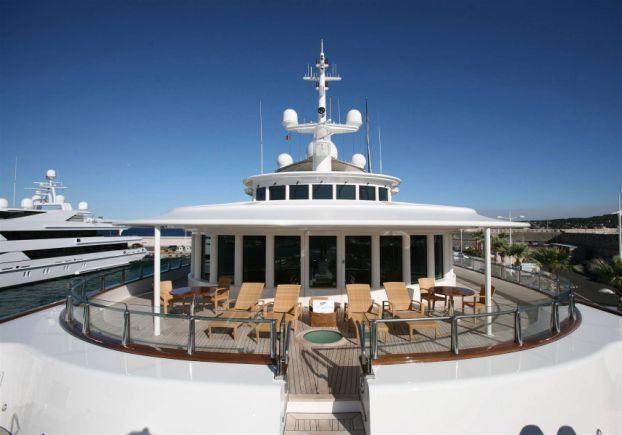 Yacht Tatoosh Cayman Islands