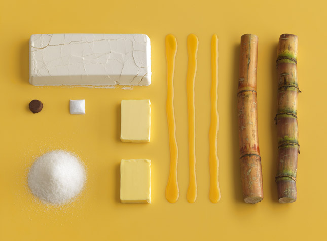 recipe ingredient art Brilliant Visual Recipes by IKEA [22 pics]