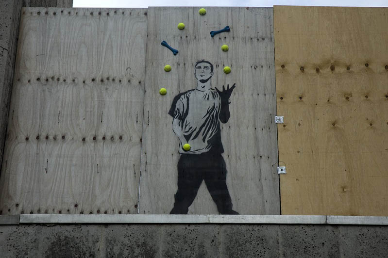 stencil artist mobstr Brilliant Street Art by Mobstr [20 pics]