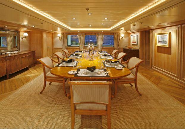 Super Yacht Tatoosh Inside Paul Allens 160 Million