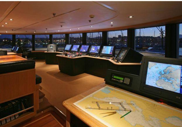 Tatoosh Control Room Mega Yacht Inside Paul Allens 160 Million