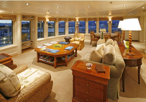 tatoosh interior Inside Paul Allens $160 Million Yacht Tatoosh