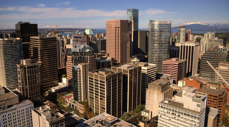 vancouver skyline british columbia 15 Spectacular Skylines Around the World