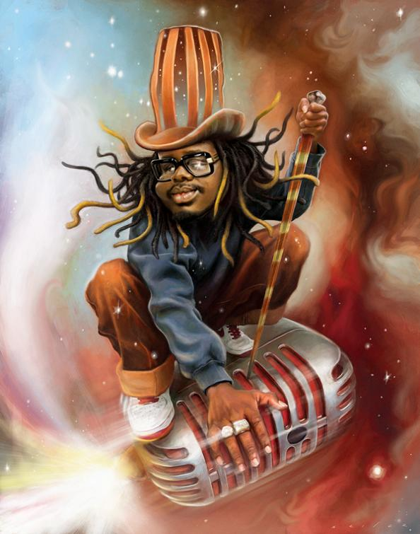 11 t pain drawing illustration jason seiler 25 Incredible Drawings by Master Caricaturist Jason Seiler