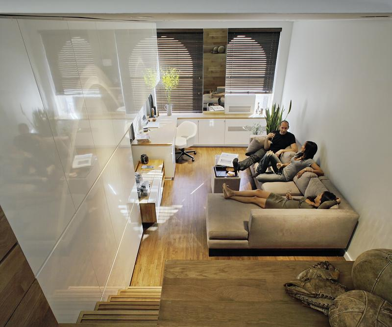 how to live large in a 500 sq ft (46 sq m) apartment «twistedsifter