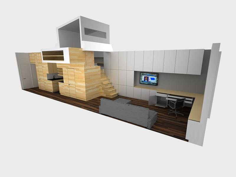 How To Live Large In A 500 Sq Ft (46 Sq M) Apartment