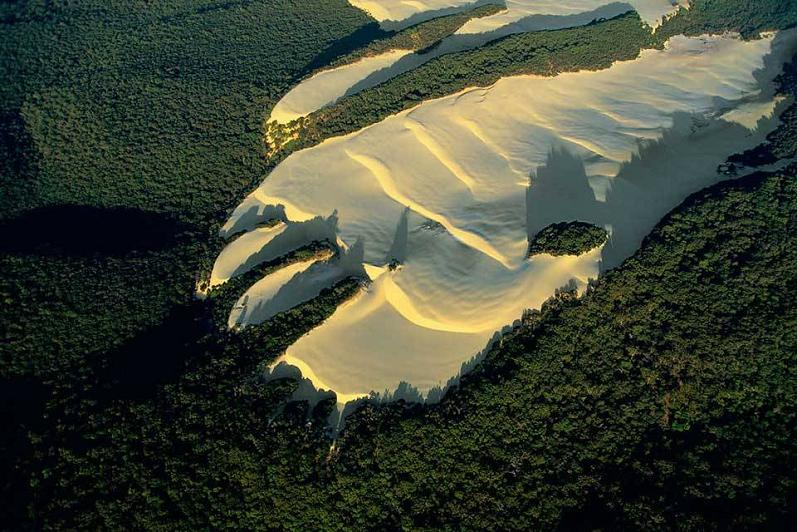 fraser island dune australia aerial yann arthus bertrand The Incredible Aerial Photography of Yann Arthus Bertrand [25 pics]