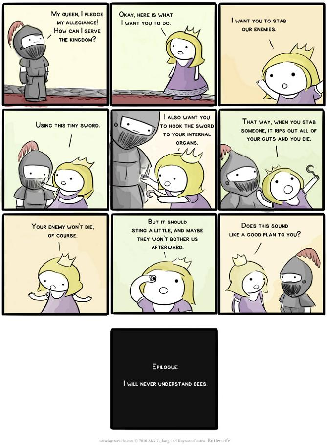 Never Understood Bees [ComicStrip]