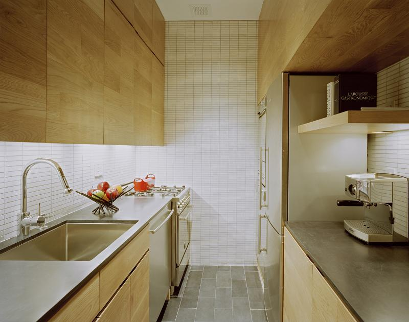 kitchen idea inspiration for small studio apartment How to Live Large in a 500 sq ft (46 sq m) Apartment