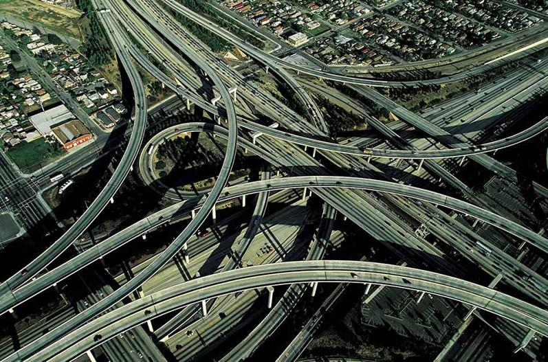 la freeway aerial yann arthus bertrand The Incredible Aerial Photography of Yann Arthus Bertrand [25 pics]