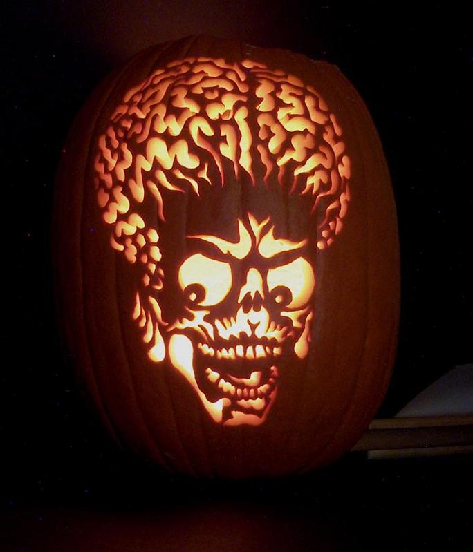 mars attacks pumpkin 25 Mind Blowing Halloween Pumpkins